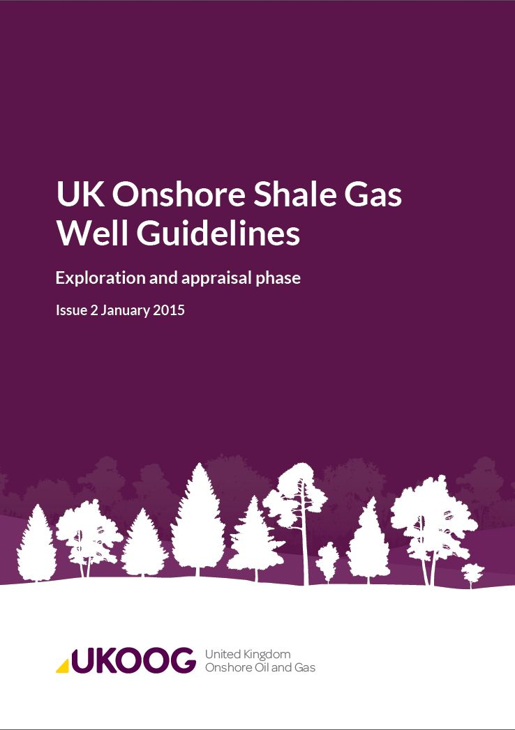 Shale Gas Well Guidelines Icon